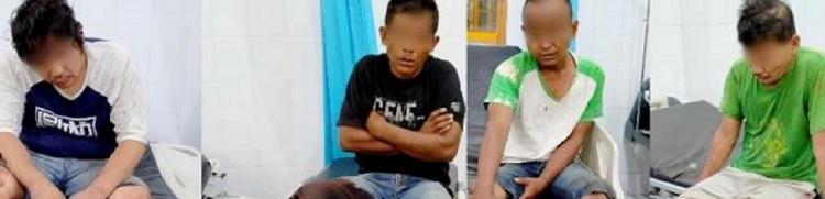 Curi 13 Unit Komputer di SMKN 1 Bandar Pasir Mandoge, Empat Pelaku Ditembak Polisi