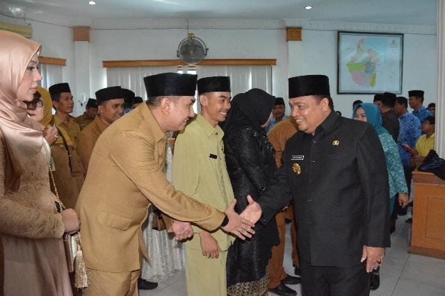 Bupati Langkat Lantik 101 Pejabat Eselon di Jajaran Pemkab Langkat