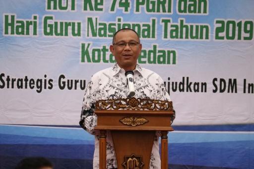 Plt Walikota Medan: Tugas Berat Guru Adalah Membangun Karakter Anak Bangsa