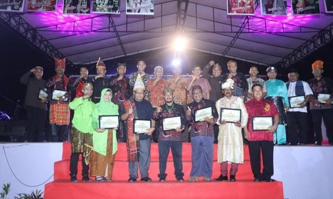 Penutupan Pagelaran Seni Budaya Daerah Kabupaten Asahan Tahun 2019 Berlangsung Meriah