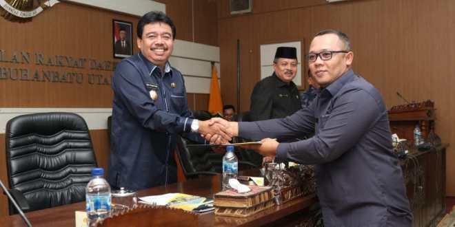 DPRD Labura Gelar Rapat Paripurna Hasil Reses