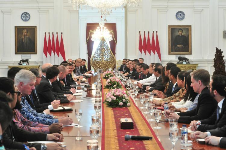 Presiden Jokowi: Kehadiran AS di ASEAN Tidak Bisa Dihindari