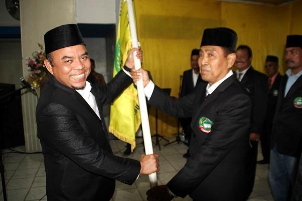 Bupati Lantik Kepengurusan Perhimpunan Lembaga Adat dan Budaya Kabupaten Labuhanbatu