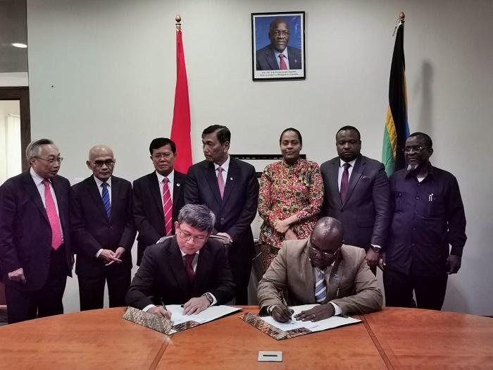 Menko Maritim Kunjungi dan Berinvestasi ke Tanzania, Garap Proyek Infrastruktur dan Pertambangan