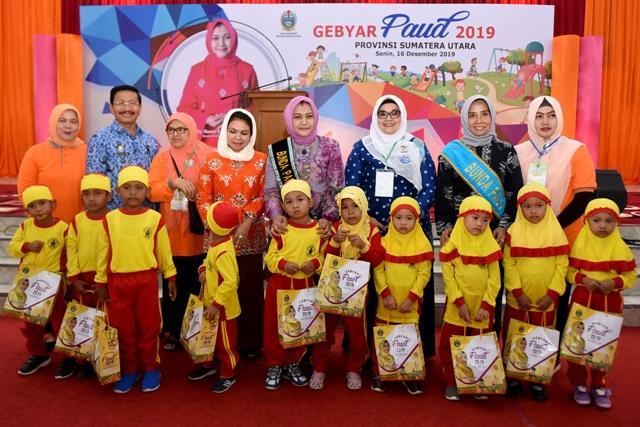 1.000 Anak Meriahkan Gebyar PAUD, Nawal Tekankan Pentingnya PAUD dalam Perkembangan Anak