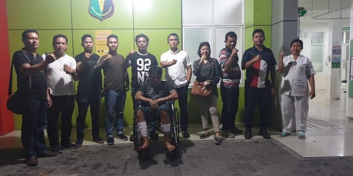 Pelaku Curanmor di Parkiran Hotel Antara Gatsu Ditembak Sat Reskrim Polrestabes Medan