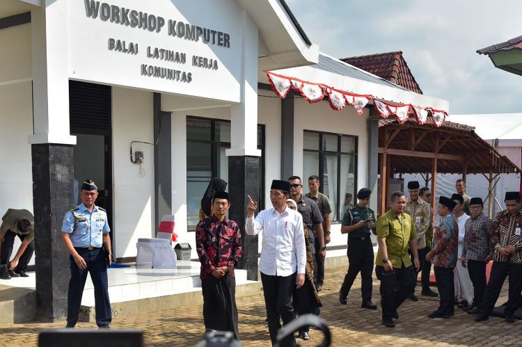 Perkuat Keterampilan SDM, Presiden Jokowi: Tahun 2020 Akan Dibangun 2.000 BLK Komunitas
