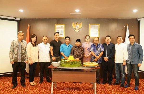 Resmikan Sekretariat HIPMI, Mardani H Maming Sebut Akan Jadi Rumah Pengusaha Muda