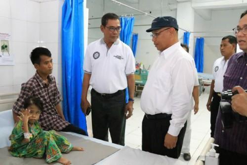 Tinjau RSUD Dr Pirngadi Medan, Plt Wali Kota Medan Minta Pelayanan Kesehatan Ditingkatkan