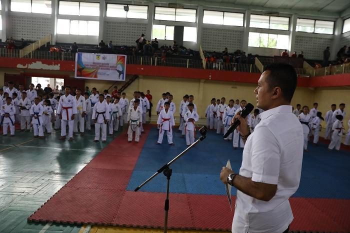Kejurda Tako Indonesia Dibuka, Wagub Ingatkan Pentingnya Kualitas Pertandingan dan Regenerasi