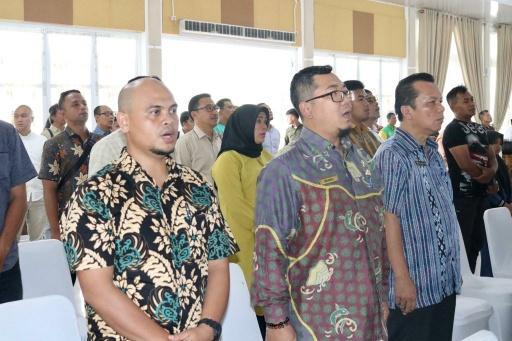 Kadis PKP2R Kota Medan Ikuti Ekspose Masterplan Sport Center