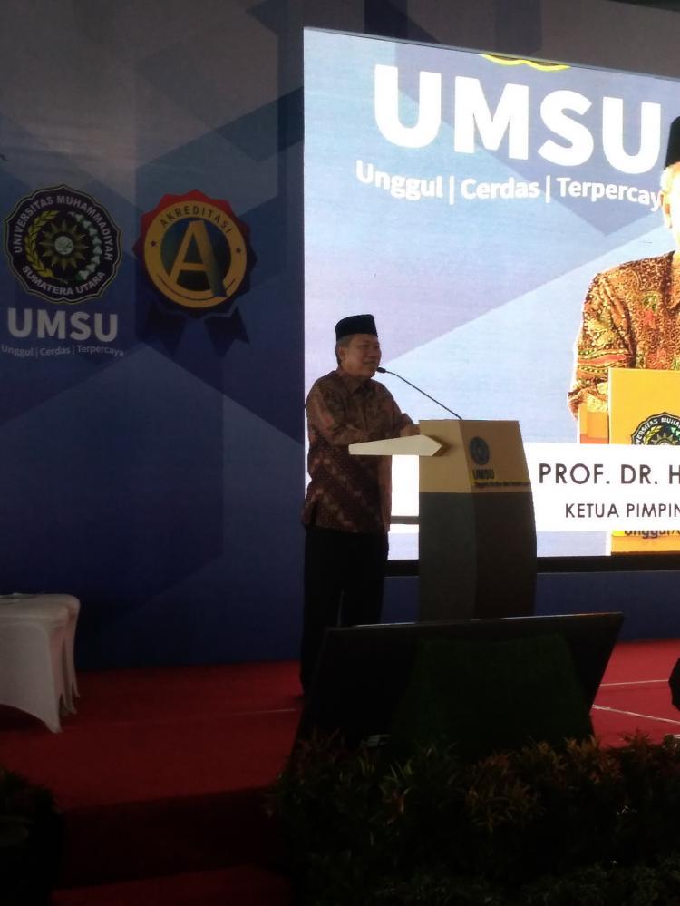 Milad Muhammadiyah ke 107, UMSU Bertekad Jadi yang Terbaik di Pulau Sumatera