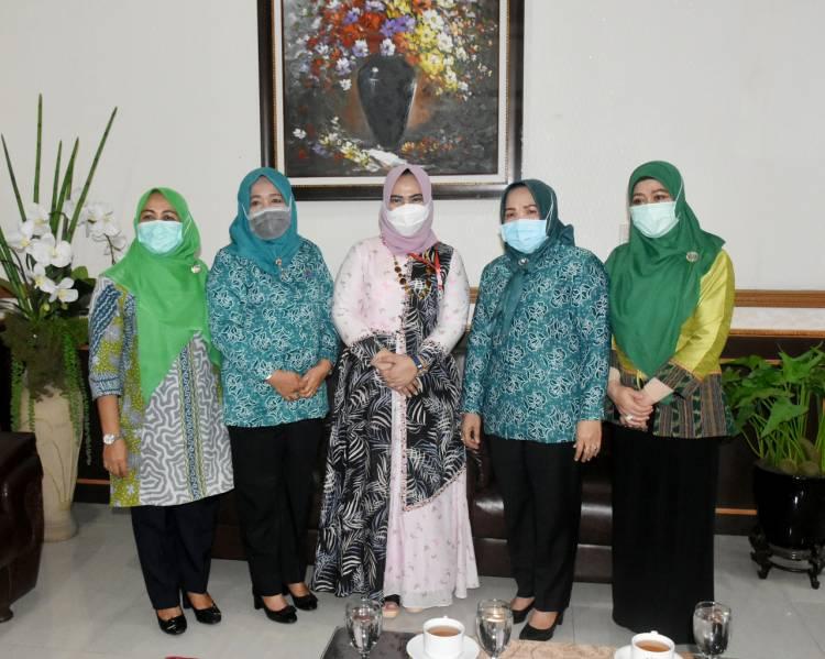 TP PKK Padang Sidempuan Study Banding di Langkat