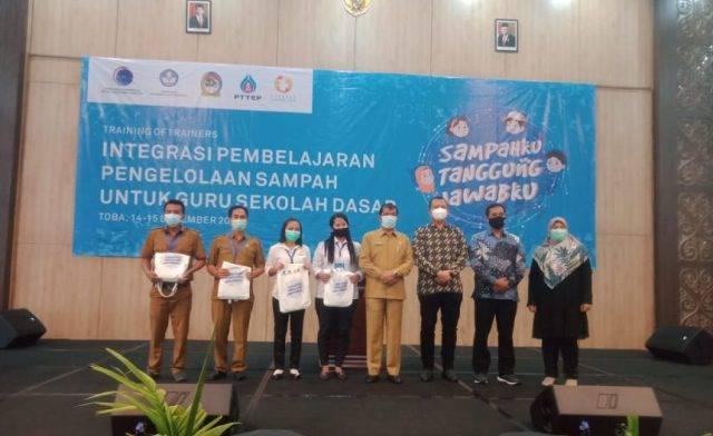 TOT Pembelajaran Pengelolaan Sampah di Sekolah Dukung Kabupaten Toba jadi Destinasi Wisata Super Prioritas