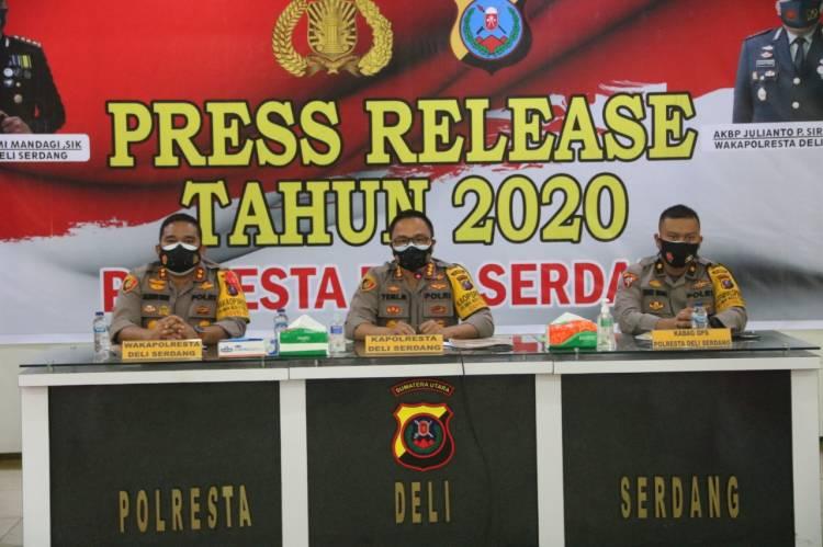 Kapolresta Deli Serdang Larang Pesta Kembang Api dan Petasan Sambut Pergantian Tahun