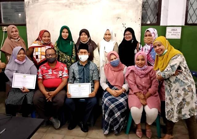 Bantu Siswa Belajar dari Ponsel di Masa Pandemi, Tim Dosen UMN Sosialisasi Media Appsgeyser untuk Guru SMK Al Washliyah 4 Medan