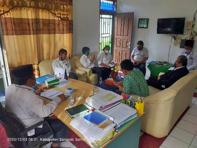 Seleksi Penyuluh Agama Kristen Non PNS, Kankemenag Samosir Pimpin Rapat Pansel