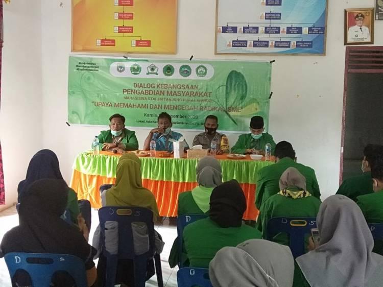 Mahasiswa STAI JM Tanjung Pura Langkat Gelar Dialog Kebangsaan Cegah Radikalisme