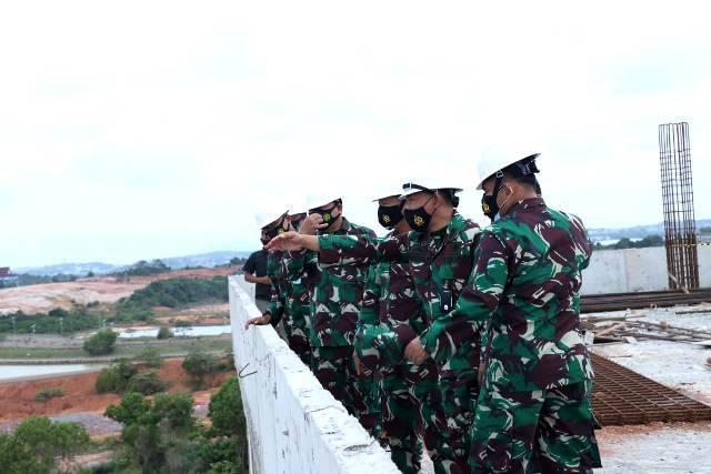 Kasum TNI Tinjau Pembangunan Makogabwilhan I di Tanjung Pinang