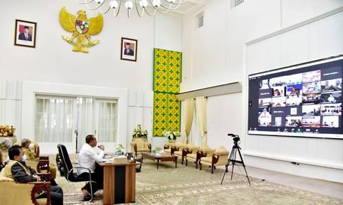 Rakor Bersama Bupati/Walikota, Gubernur Tekankan Sekolah Tatap Muka di Sumut Harus Penuhi Persyaratan Tertentu