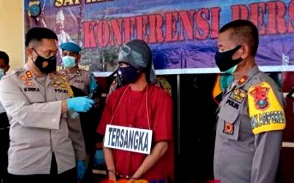 Sempat 3 Hari Buron, Polres Tapteng Berhasil Tangkap Pelaku Pembunuhan Sadis di Desa Mela II, Kecamatan Tapian Nauli
