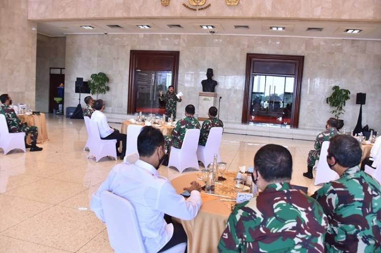 Panglima TNI Coffee Morning Bersama Jajaran BPK RI di Mabes Cilangkap