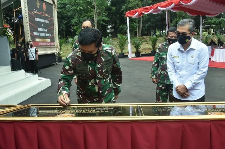 Panglima TNI Resmikan Sarana Prasarana Koopssus TNI