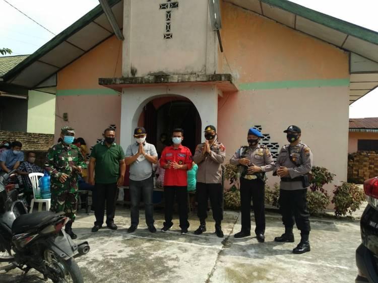 Perayaan Natal, Polresta Deli Serdang Tingkatkan Patroli dan Pengamanan di Gereja