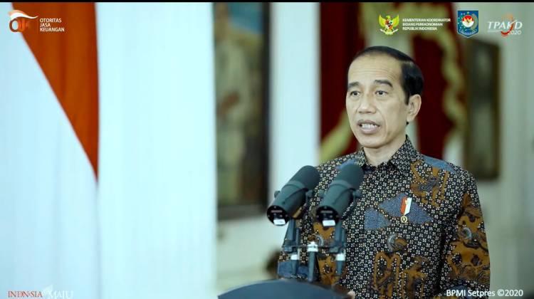 Presiden Jokowi: Empat Cara Extraordinary Tingkatkan Inklusi Keuangan di Rakornas TPAKD 2020