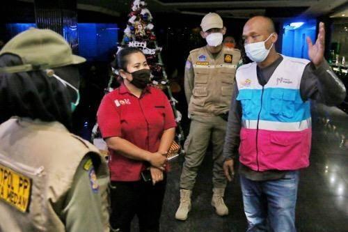 Satgas Covid-19 Kota Medan Pantau Penerapan AKB di Tempat Hiburan Malam