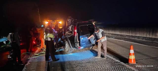 Kecelakaan Maut di Jalan Tol Medan-Tebing Tinggi, 1 Orang Meninggal Dunia
