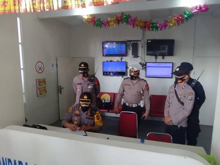 Kapolresta Deli Serdang Cek Kesiapansiagaan Pos Pam dan Pos Yan Bandara Kualanamu