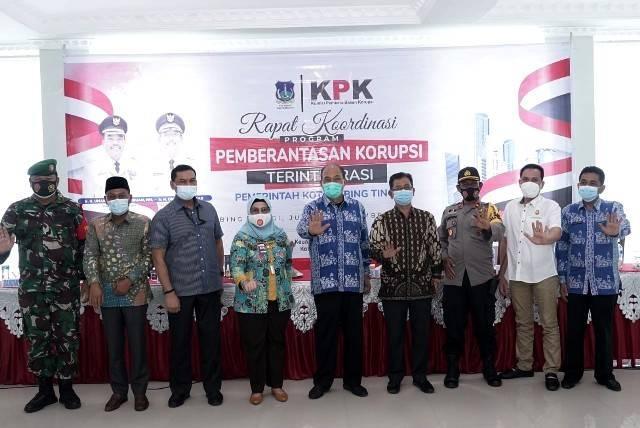 KPK Kunjungi Pemko Tebing Tinggi, Bahas Program Pemberantasan Korupsi Terintegrasi