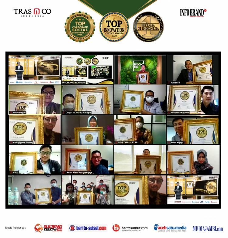 130 Brand Raih Penghargaan Top Innovation Choice Award & Top Corporate Social Responsibiky PKL of The Year 2020