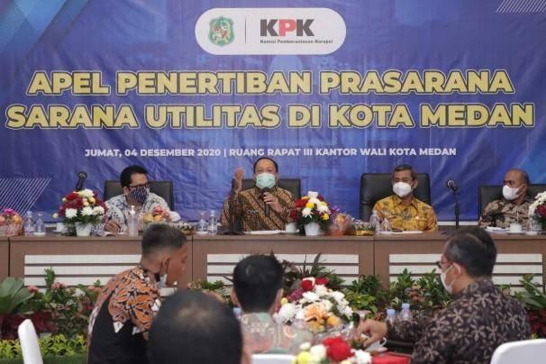 Tinjau PSU di Kota Medan, KPK Minta Pengembang Segera Serahkan Aset Negara ke Pemko Medan