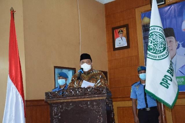 Pengurus DPD BKPRMI Langkat Periode 2019- 2023 Dilantik, Bupati Mengajak untuk Bersama Membina Pemuda