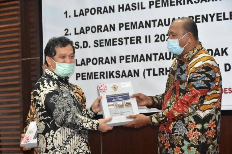 Pemkab Langkat Terima LHP Dan LHPt dari BPK RI Sumut