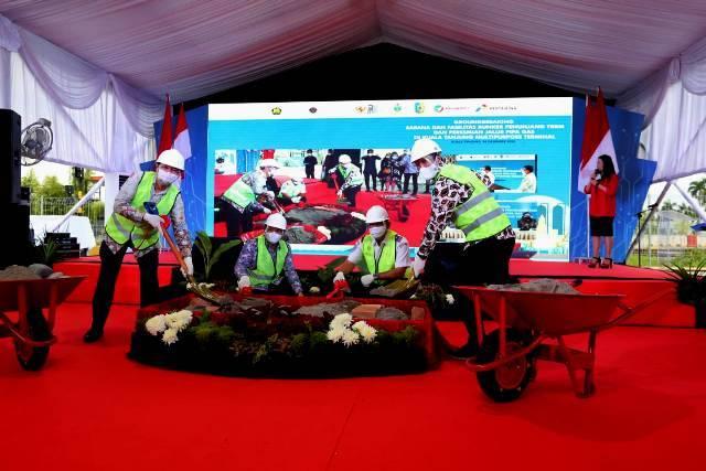 Pelindo 1 dan Pertamina Sinergi Bangun Infrastruktur Energi di Pelabuhan Kuala Tanjung
