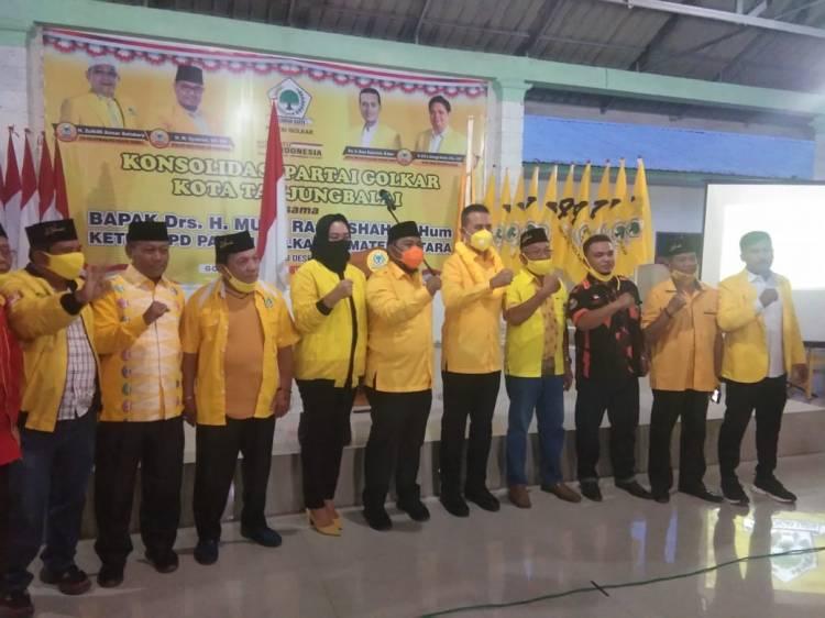Pesan Ijeck di Tanjung Balai, Raih Empati Masyarakat Untuk Besarkan Golkar