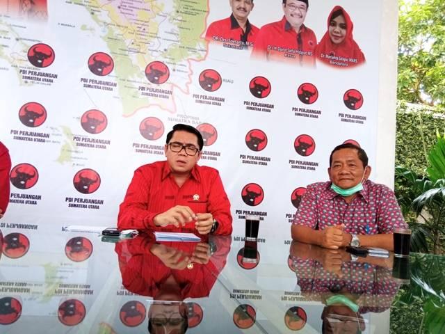 Anggota Komisi III DPR RI Arteria Dahlan Minta KPU Samosir Diskualifikasi Pasangan Pemenang Vandiko Gultom dan Martua Sitanggang
