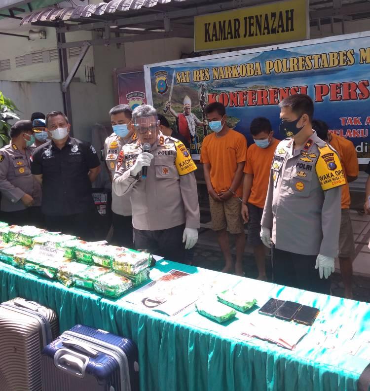 Gembong Narkoba Internasional Ditembak Mati di Medan, Polisi Amankan 30 Kilo Sabu