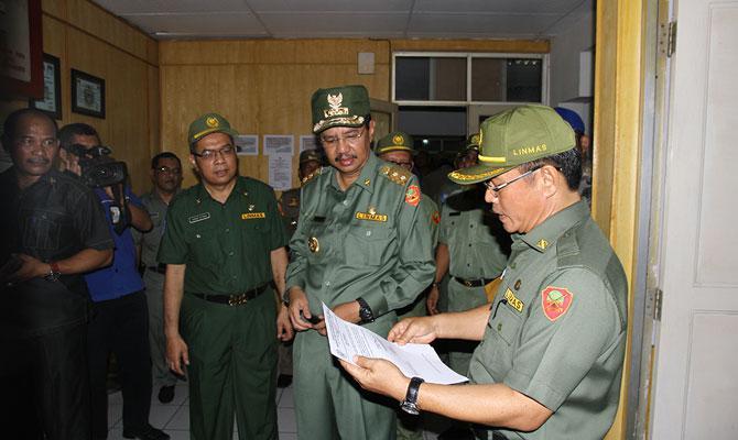 Hari Pertama Kerja 2016, Plt Gubernur Sumut: Tingkat Kehadiran Capai 97 Persen
