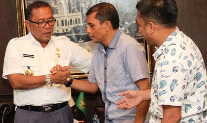 Randiman Dukung Penuh Musorkot KONI Medan