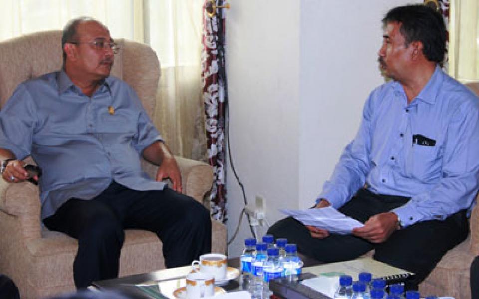 Rektor Harapkan Dukungan Plt Walikota Medan Penyatuan UISU