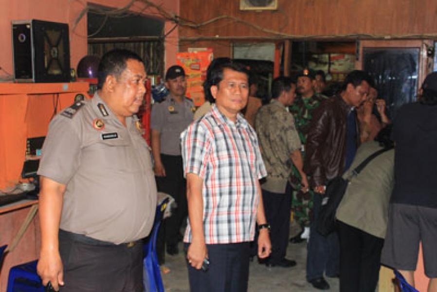 Dinas Kominfo Medan Kembali Razia Warnet Bermasalah