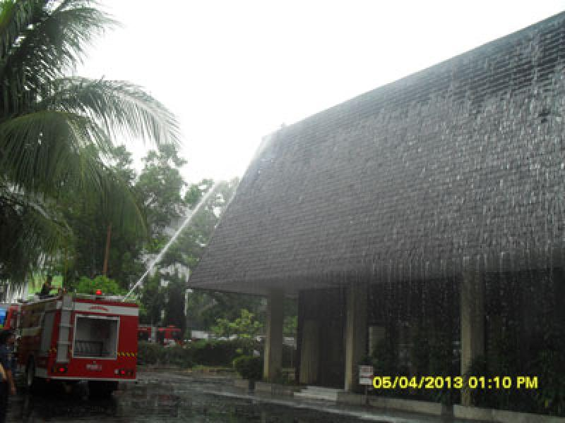 Wisma Kartini Medan Dilalap Api
