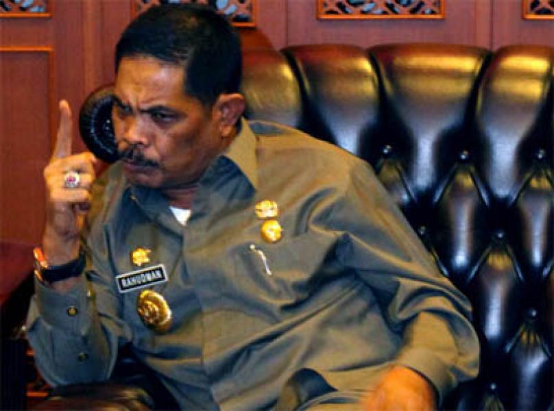 Tiba di Rutan Tanjung Gusta Medan, Rahudman Cek Kesehatan