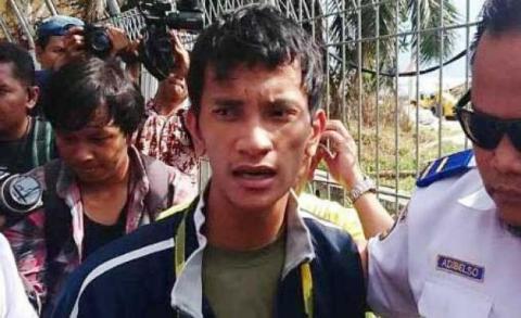 Mario Ambarita Si Penyusup Pesawat Ditangkap di Dekat Lokasi Check In Bandara Kualanamu