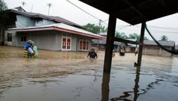 51 Rumah Terendam Banjir Hingga 2 Meter, 4 Rumah Hanyut