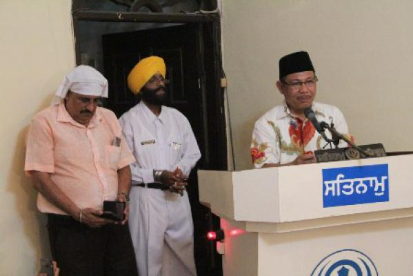 Wakil Walikota Medan Hadiri Perayaan Vaisakhi